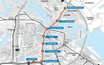 Project afgerond:  Noord/Zuidlijn
