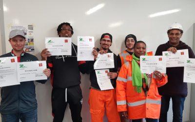 Uitreiking certificaten
